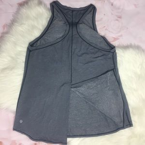 Lululemon All Tied Up Racerback Tank Top In Gray
